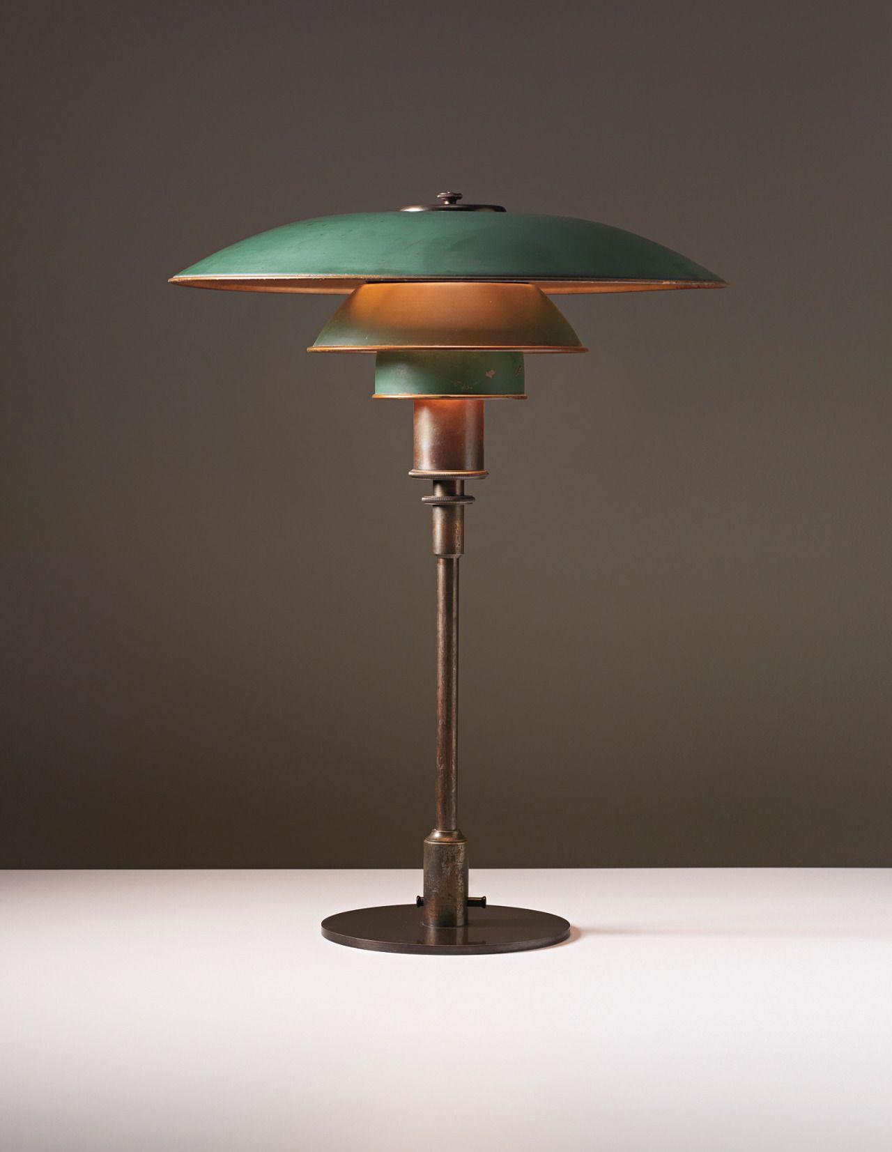 lampara de mesa ph poul henningsen diseño