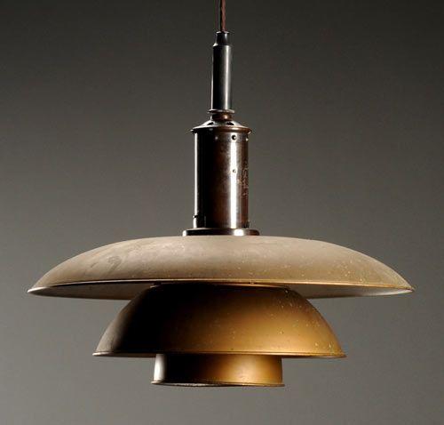 lampara poul henningsen diseño iluminacion
