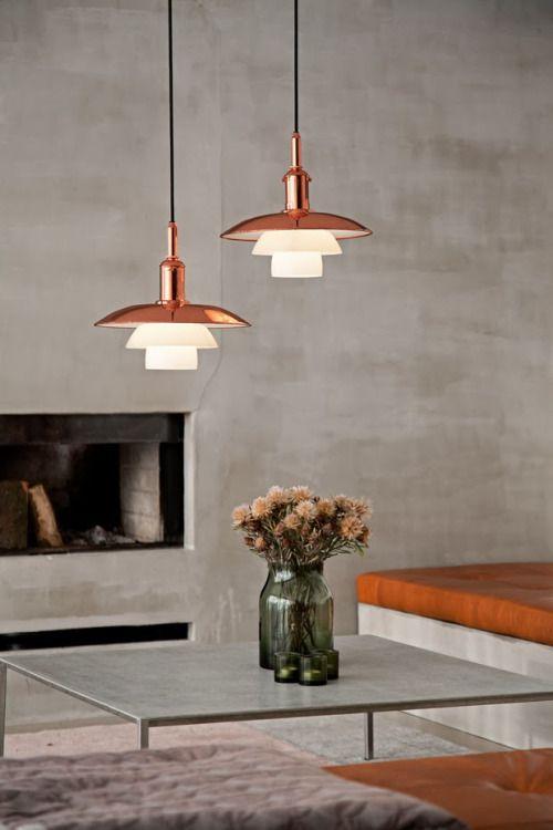lamparas ph poul hennigsen diseño iluminacion