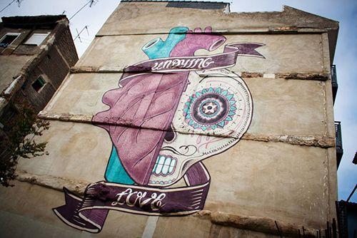 zaragoza boa mistura arte urbano