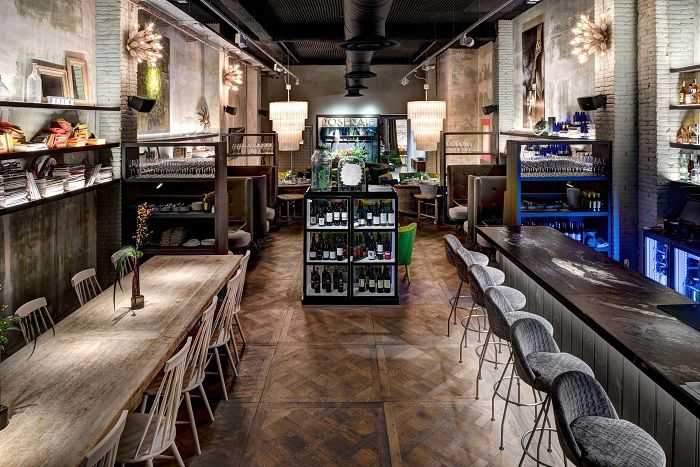 Café restaurante de Jaime Beriestain en Barcelona