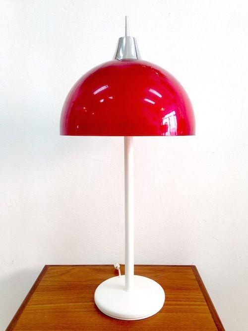 Lámpara-roja-blanca-seta1