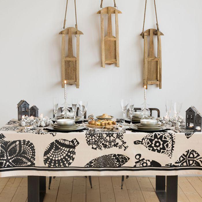 Zara Home nos da multitud de ideas para decorar nuestra mesa estas Navidades