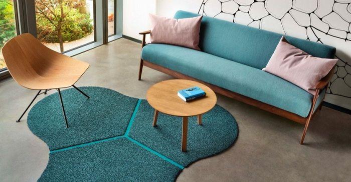 alfombras forma original