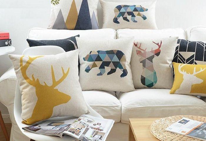 Tendencias en cojines para decorar tu hogar