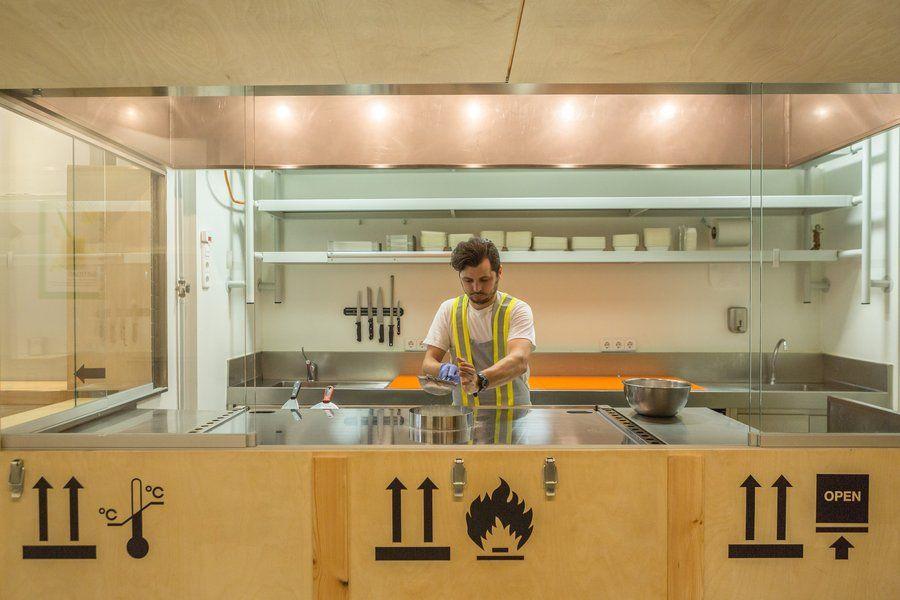 Academia de Despiece, una escuela culinaria en Madrid