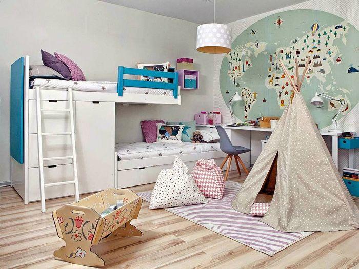 muebles y habitaciones para niños