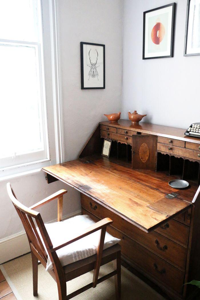 escritorio madera clasico