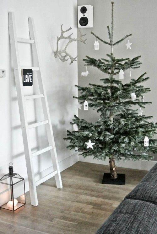decoracion arbol navidad blanco 3