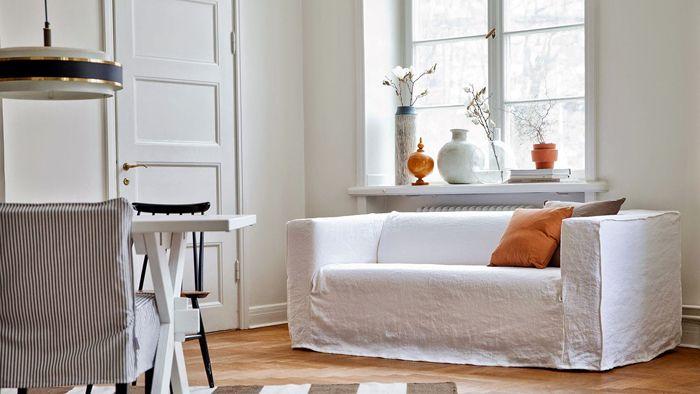 klippan loosefiturban sofa ikea totalmente blanco bemz
