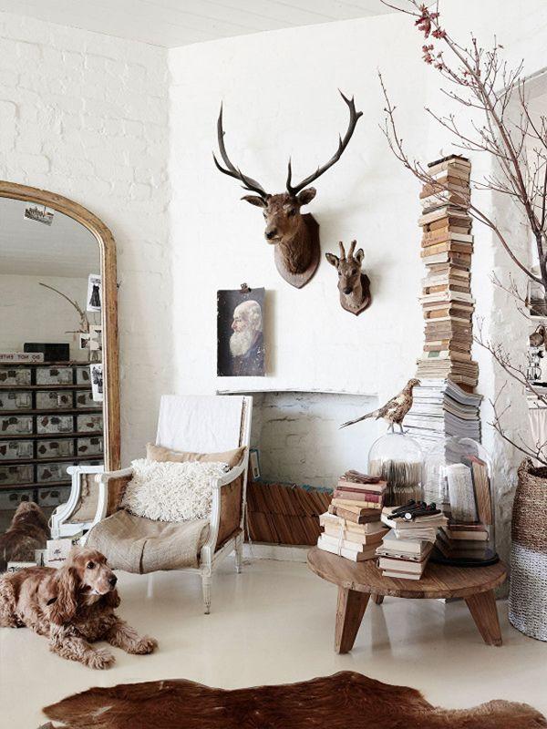 rincon colores neutros madera vintage