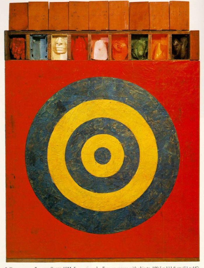 diana escayolas jasper johns obra artista pop art americano target