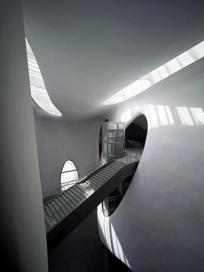 Interior del Museo de Ordos