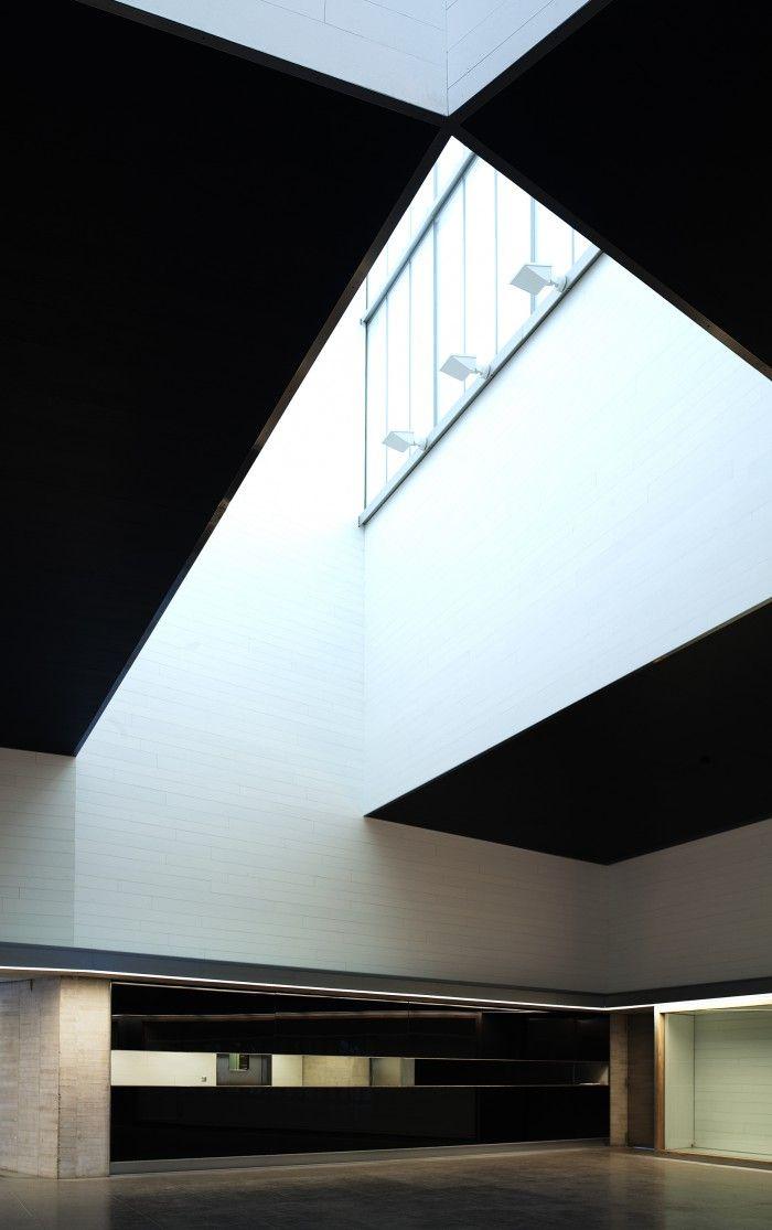 MUSAC Leon Arquitectura interior Tunon Mansilla