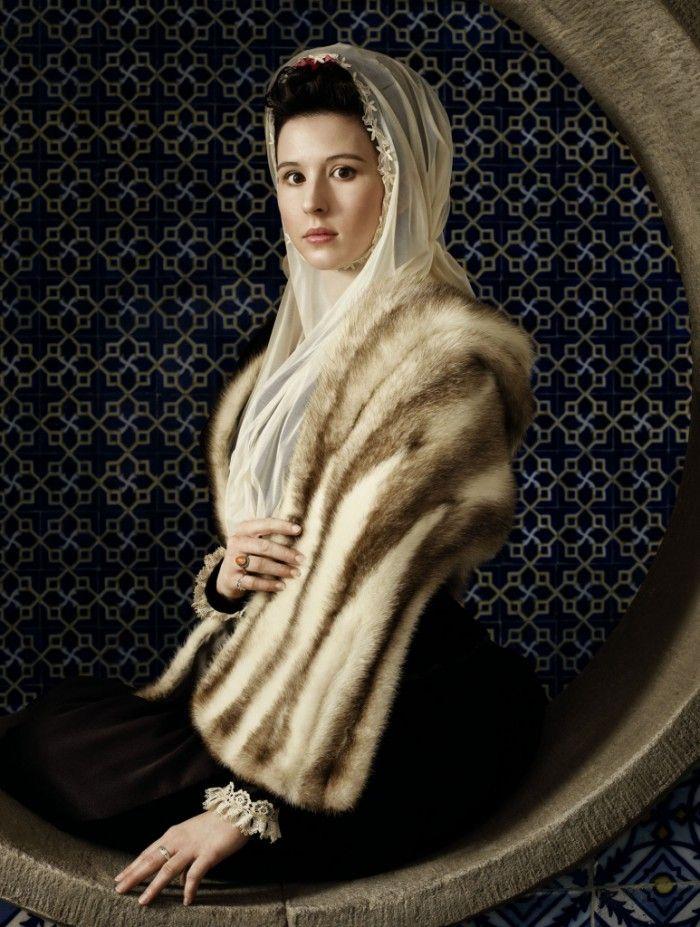 dama del armiño bodegon laboral gijon erwin olaf fotografia que parece pintura