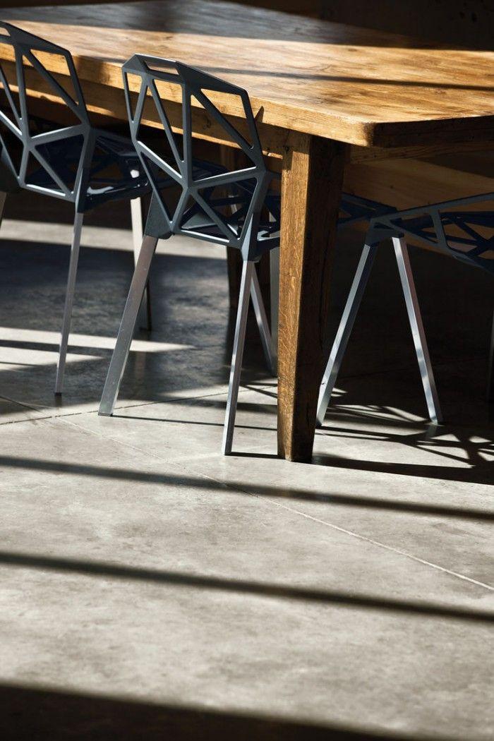 silla one chair konstantin grcic 2004 poligono aluminio triangulos geometrico