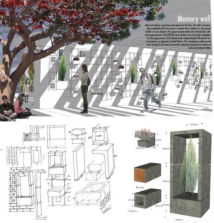 design for death and living cementerios futuros cremacion ideas funerarias entierros ecologicos jardin del recuerdo cremacion