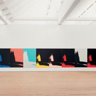 """""""Sombras"""" de Andy Warhol en el Guggenheim de Bilbao"""