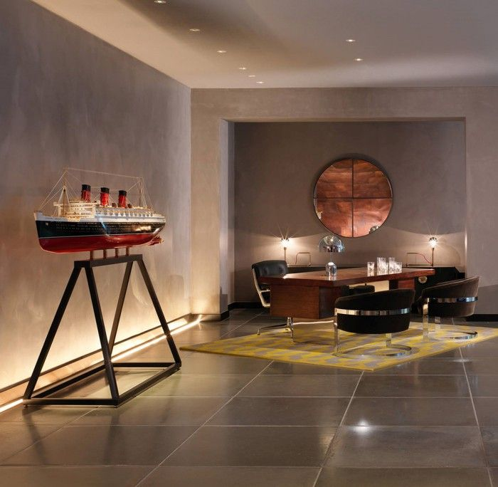 recepcion hotel mondrian londres transatlantico titanic