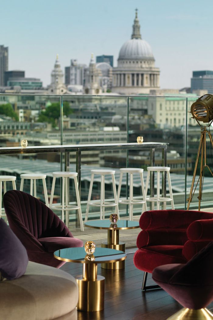 terraza hotel mondrian londres vistas tamesis