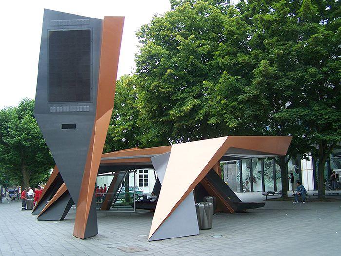 Aachen Busshelter peter_Eisenman
