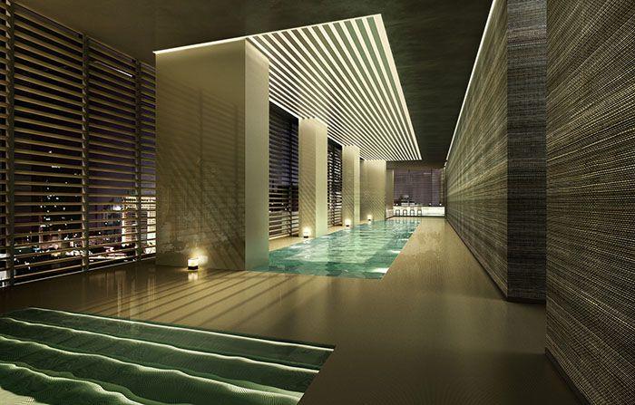 piscina armani casa