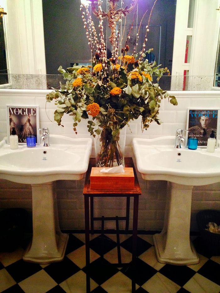 baños restaurante ganz