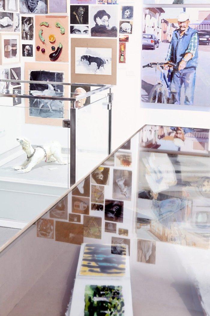 interior galeria de artefernandez hurtado art gallery en segovia