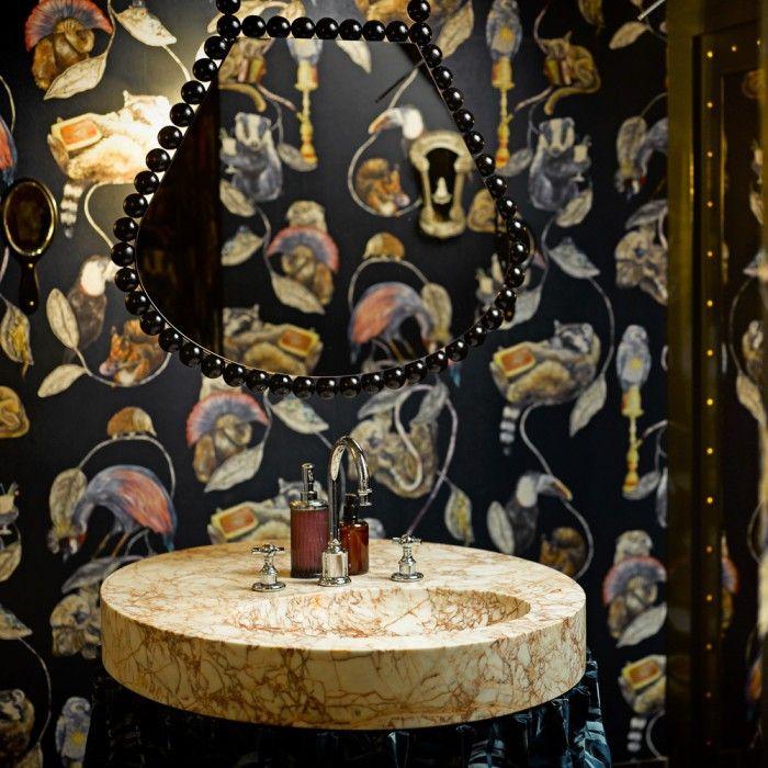 lavabo de marmol decoracion de baños lavabo de diseño restaurante razzia zurich interior