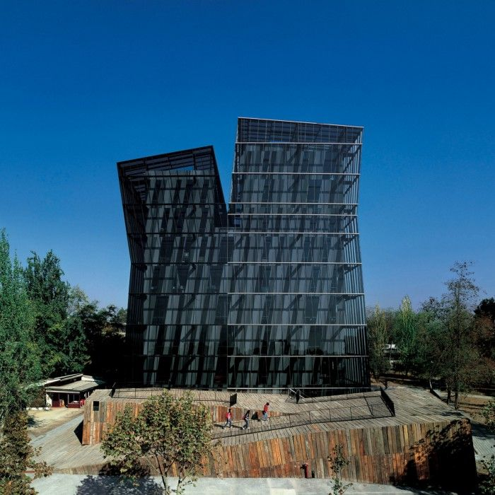 torres siamesas universidad catolica de chile obra edificio de alejandro aravena premio pritzker arquitectura 2016 chileno chile