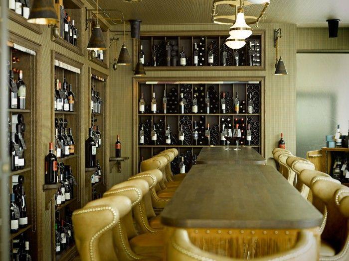 vinoteca restaurante razzia zurich interior