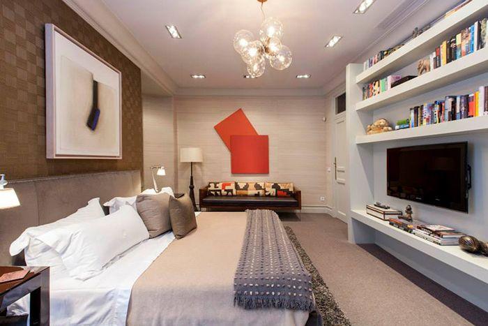 dormitorio y sofa