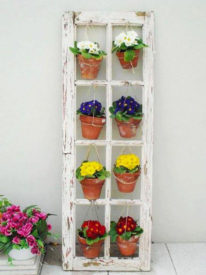 12 ideas para reutilizar puertas y ventanas moove magazine for Puertas recicladas para decorar