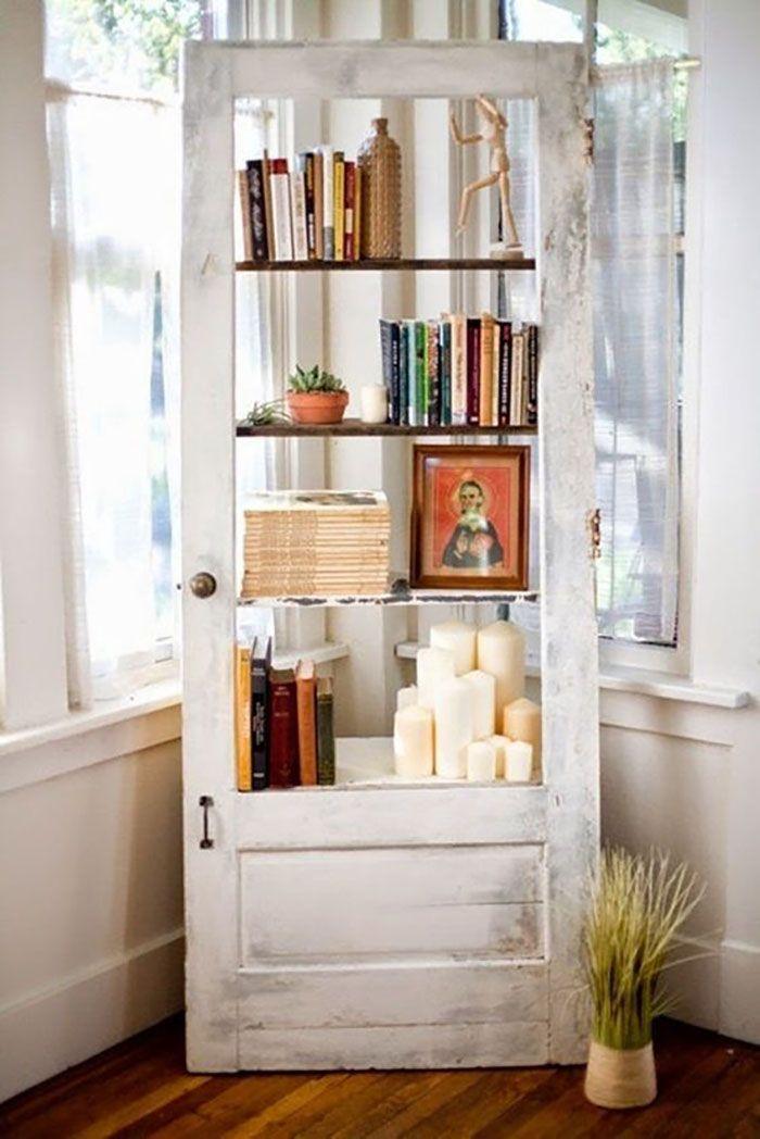 puerta estantería