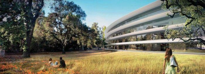 campus apple 2 nueva sede cupertino edificio anillo