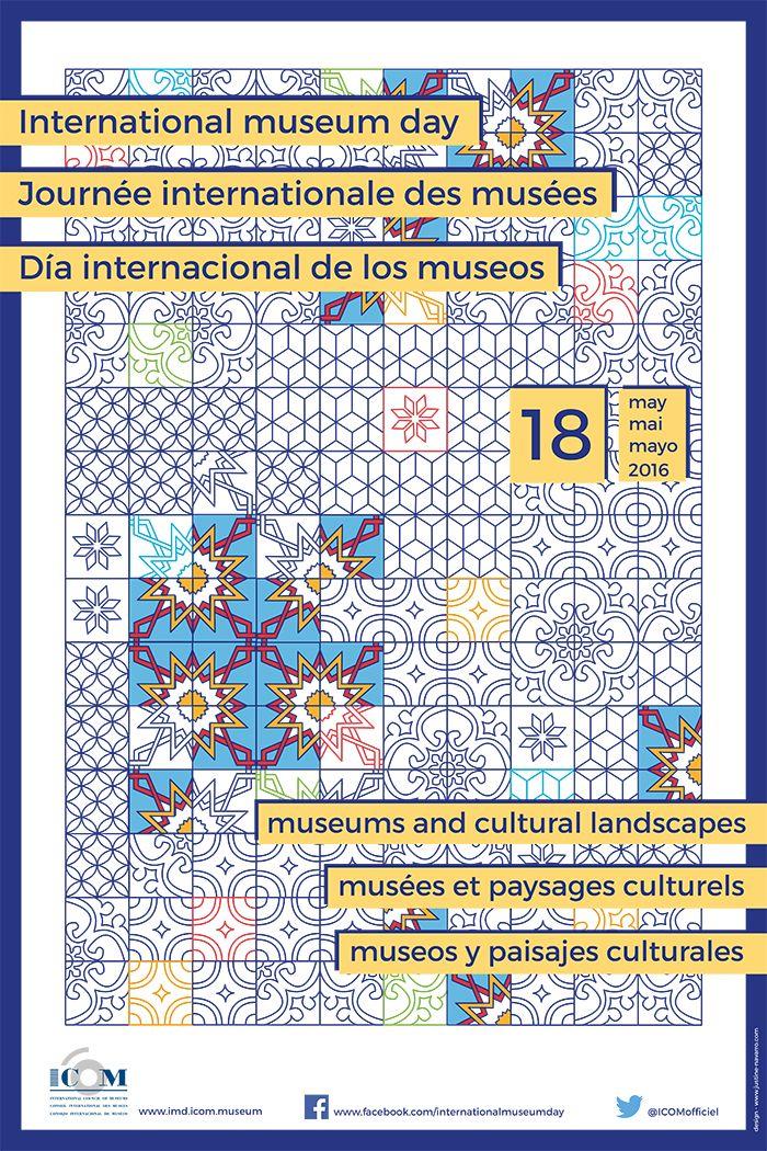 cartel oficial dia internacional de los museos espanol espana madrid barcelona programacion actividades culturales 18 de mayo