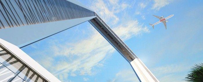 edificios soprendentes edificio marco dubai frame emiratos arabes edificios raros sorprendentes rascacielos marco de 300 metros