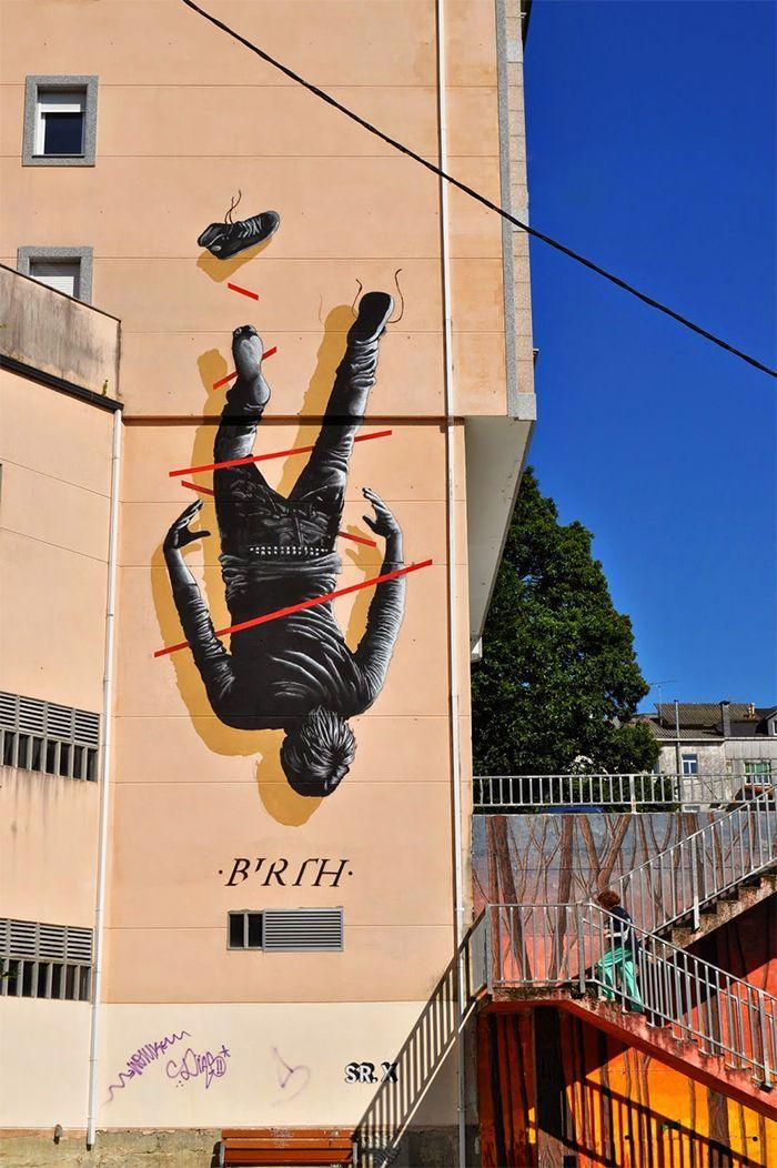 mural mister x birth desordes creativas ordes a coruna galicia street art arte urbano graffiti grafo