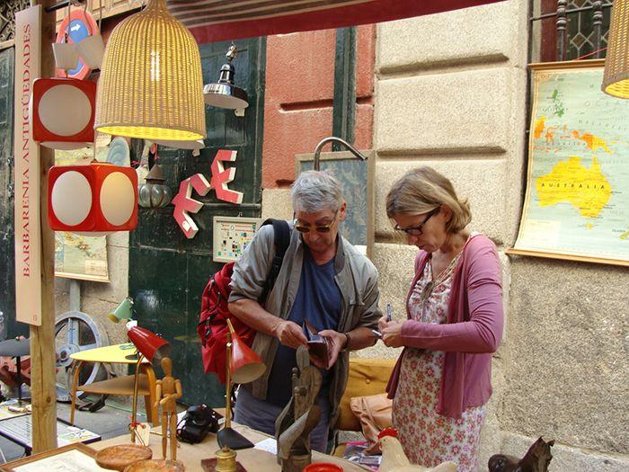 Mercadillo de antigüedades en DECORACCIÓN 2011 II