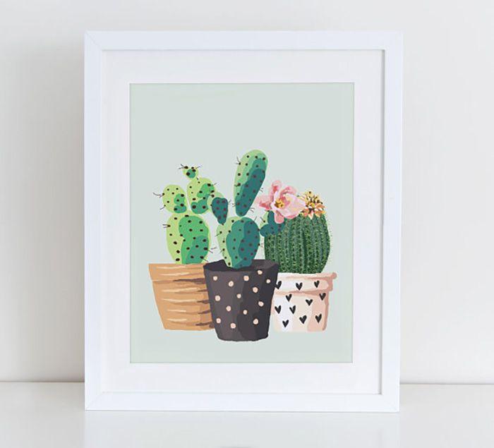 cactus acuarela 1