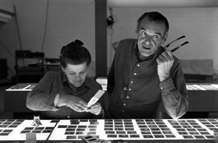 charles ray eames pareja disenadores arquitectos matrimonio estadounidense mujer hombre