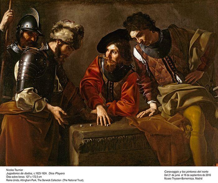 """El Museo Thyssen presenta """"Caravaggio y los pintores del norte"""""""