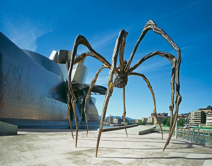 maman louise bourgeois expresionismo abstracto escultura arana gigante museo guggenheim de bilbao
