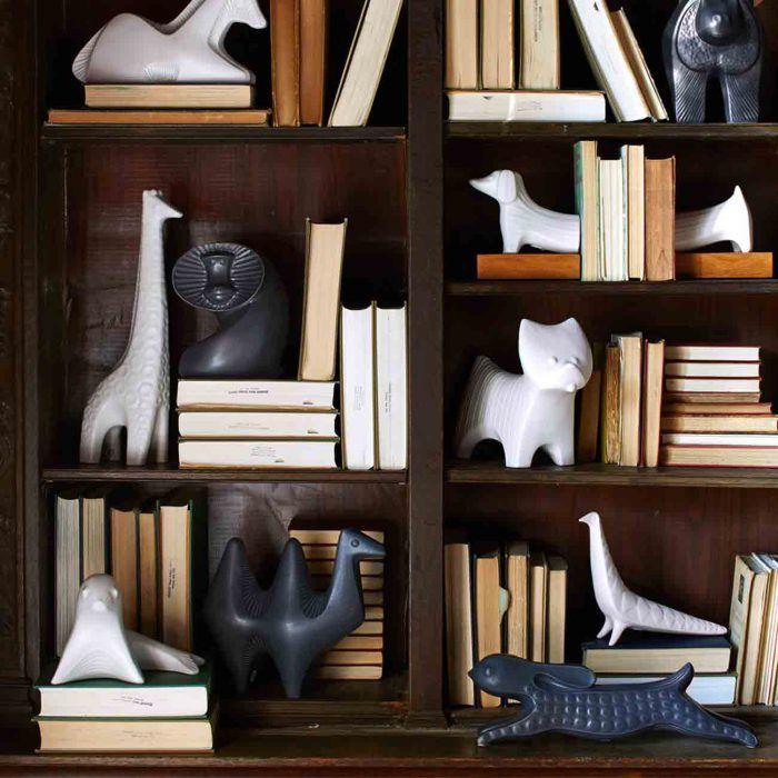 piezas de ceramica naif jonathan adler animales porcelana diseno