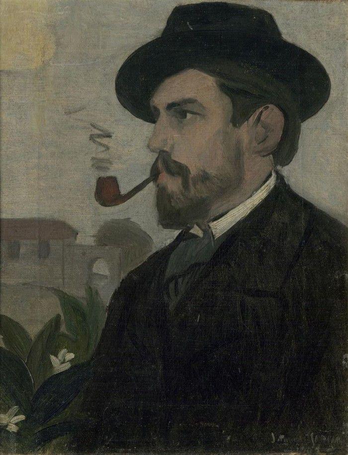 retrato del pintor joaquin torres garcia un moderno en la arcadia espacio fundacion telefonica artista uruguayo moderno 2