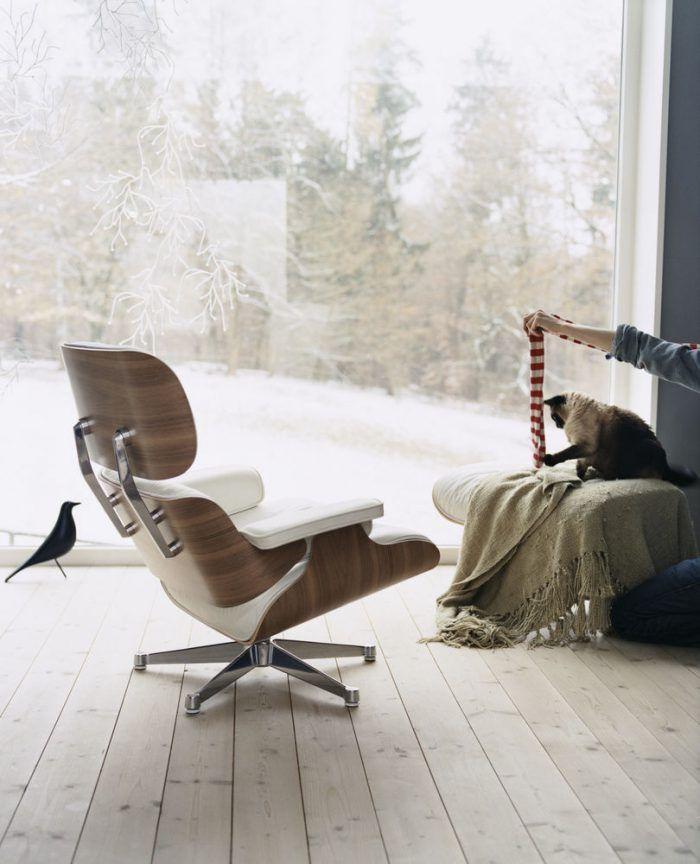 silla Eames Lounge Chair chaise longue charles y ray eames disenadores arquitectos estadounidenses pareja matrimonio