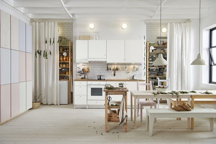 cocina blanca catalogo IKEA 2017