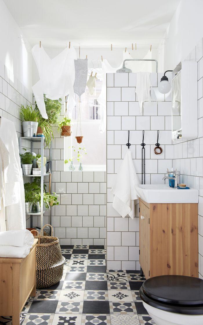 baño baldosas metro catalogo IKEA 2017