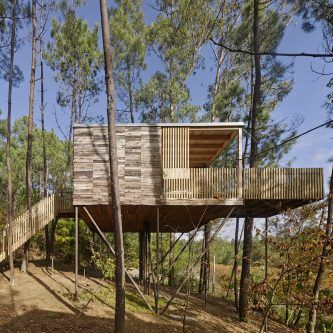 Cabanas do Barranco, glamping entre los árboles en A Coruña