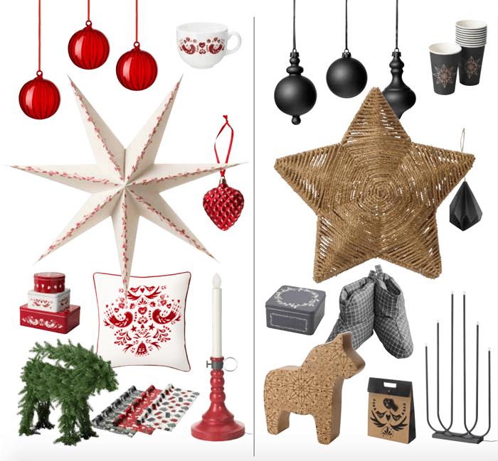 Adornos navidad IKEA 2016 2017